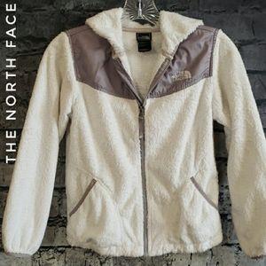 The North Face silkin fleece Girls Hoodie Jacket